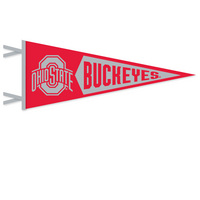Ohio State Buckeyes Logo Pennant from Collegiate Pacific