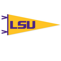 LSU Tigers Logo Pennant from Collegiate Pacific