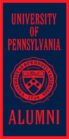 Penn Vertical Logo Banner from Collegiate Pacific