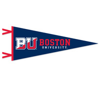 Boston Terriers Multi Color Logo Pennant from Collegiate Pacific