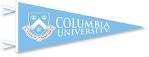 Columbia University Multi Color Logo Pennant from Collegiate Pacific