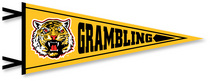 Grambling State Tigers Multi Color Logo Pennant from Collegiate Pacific