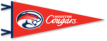 Houston Cougars Multi Color Logo Pennant from Collegiate Pacific