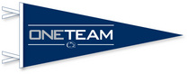 Penn State Nittany Lions Multi Color Logo Pennant from Collegiate Pacific