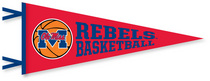 Ole Miss Multi Color Logo Pennant from Collegiate Pacific