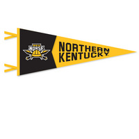 12x30 2 Piece Multi Color Felt Pennant