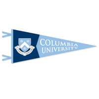 Columbia Lions Multi Color Logo Pennant from Collegiate Pacific