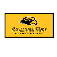 Southern Mississippi Eagles Horizontal Multi Color Logo Banner from Collegiate Pacific