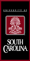 South Carolina Gamecocks Vertical Multi Color Logo Banner from Collegiate Pacific