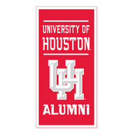 Houston Cougars Vertical Multi Color Logo Banner from Collegiate Pacific