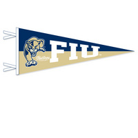 FIU Multi Color Logo Pennant from Collegiate Pacific