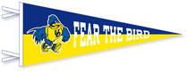 Delaware Blue Hens Multi Color Logo Pennant from Collegiate Pacific