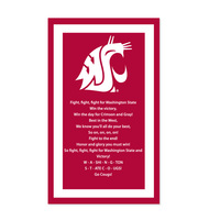 Washington State Cougars Collegiate Pacific Banner