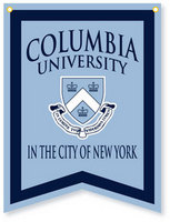 Columbia University Collegiate Pacific Banner