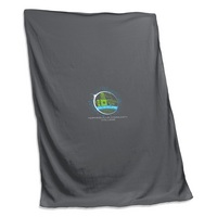 Logo Chair Sweatshirt Blanket
