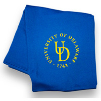 Delaware Blue Hens Sweatshirt Blanket from MV Sport