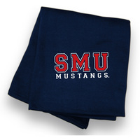 SMU Mustangs Sweatshirt Blanket from MV Sport