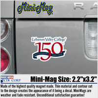 150th Anniversary Mini Magnet