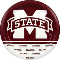 Mississippi State Bulldogs Plates