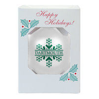 Dartmouth Big Green Shatter Proof Ornament