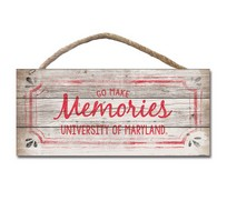 Go Make Memories Wood Plaque