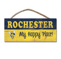 My Happy Place Wood Plaque
