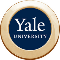 Yale Bulldogs Round Magnet
