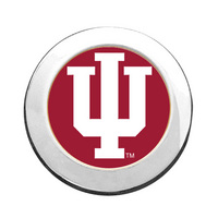 Indiana Hoosiers Round Magnet