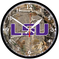 LSU Tigers Round Clock from Wincraft