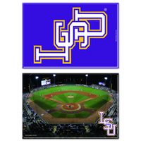 LSU Tigers Two Pack Rectangular Magnets from Wincraft