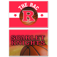 Rutgers Scarlet Knights Two Pack Rectangular Magnets from Wincraft