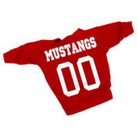 SMU Mustangs Dog Football Jersey