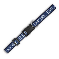 Emory Eagles Wov In Pet Collar