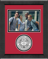 Northeastern Huskies Churchill Classics Horizontal Logo Photo Frame