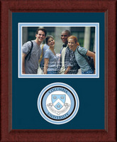 Columbia University Churchill Classics Horizontal Logo Photo Frame