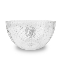 Salad Bowl  Hand Cut Krystof Crystal (Online Only)