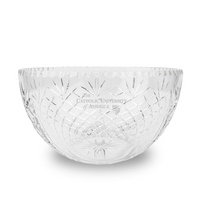 Krystof Cut Crystal  Salad Bowl (Online Only)