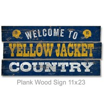 Plank Wood Sign