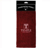Temple Embroidered Towel from Team Golf