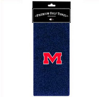 Ole Miss Embroidered Towel from Team Golf