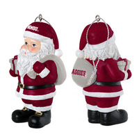Collegiate Santa Claus Ornament