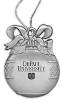 DePaul Bulb Shaped Ornament