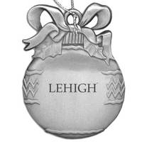 Lehigh Bulb Shaped Ornament