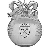 Emory Eagles Bulb Shaped Ornament
