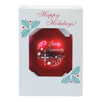 Flames Shatter Proof Ornament