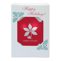 Ohio State Buckeyes Shatter Proof Ornament