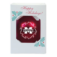Mississippi State Bulldogs Shatterproof Ornament