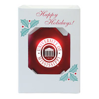 Ole Miss Shatterproof Ornament
