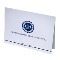 Penn State Nittany Lions Thank You Cards by Overly