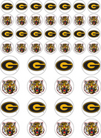 Grambling State Tigers Sticker Sheets